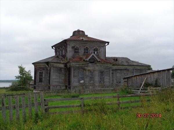 Бывший храм Большой Фехтальмы