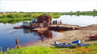 Онего-Беломорский байдарочный (санаторный) - 2014. Река Онега.