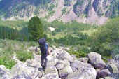 Спуск в долину Ложи