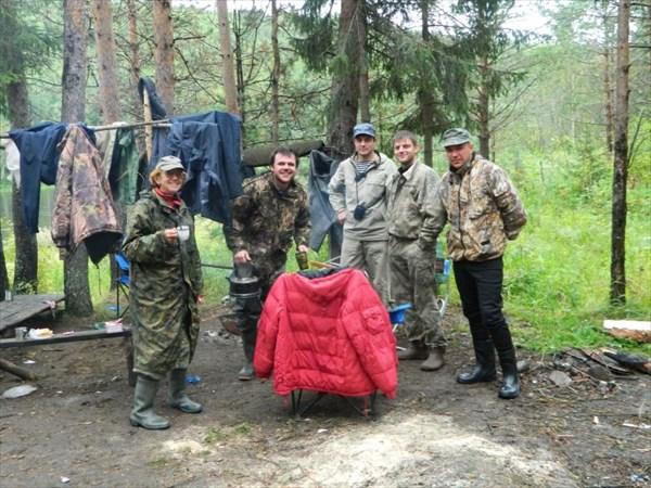 С ребятами из Екатеринбурга.