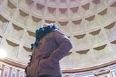 Пантеон внутри. Вид вверх.