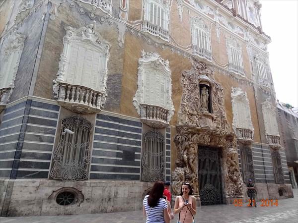Дворец маркиза де Дос Агуас. Музей керамики.