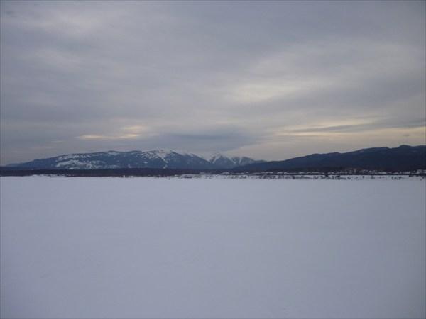 Восточный берег Байкала. 2013-03-16-07:50:07