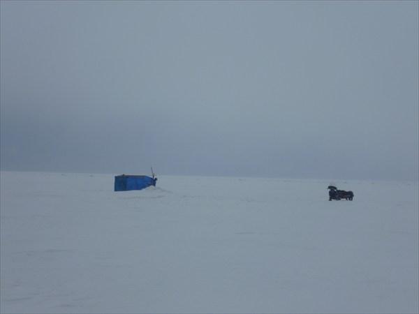 Рыбаки на Байкале. 2013-03-16-09:32:24