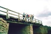 На мосту у села Рысаево