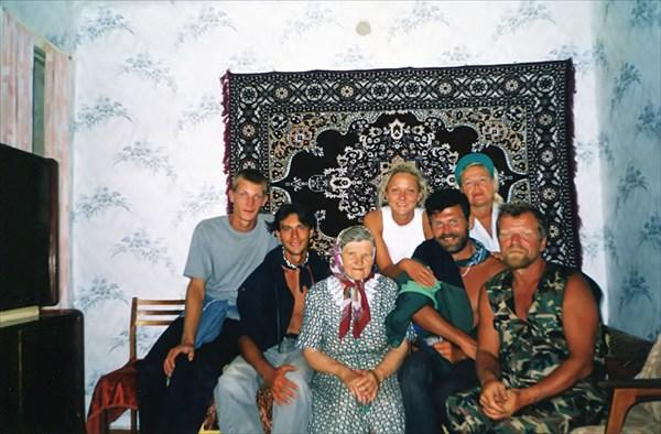 Село Крючковка. В гостях у Мамы.
