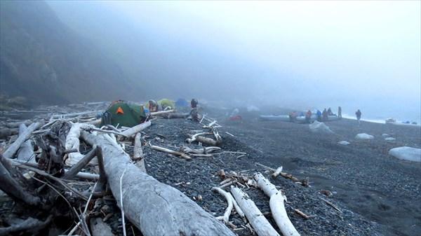 Остров Птичий. Надвигается туман