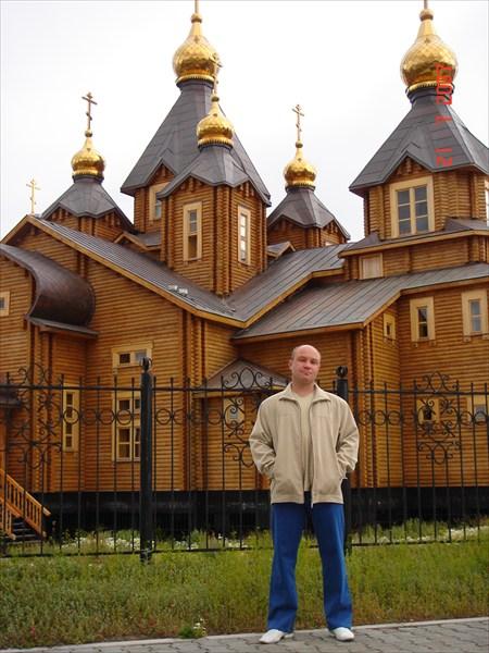 Самая северная церковь из ели