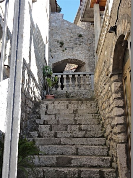 Лесенка с балкончиком