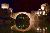 Старый Мост ночью