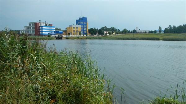 Водохранилище в Можейково