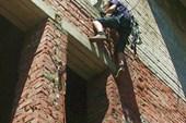 подьем свободным лазанием до верхнего КП - на крышу