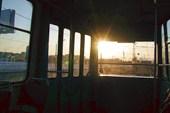 В питерском трамвайчеге