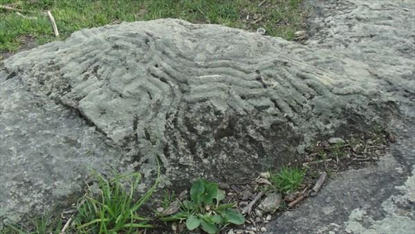 Петроглифы на горе Железной