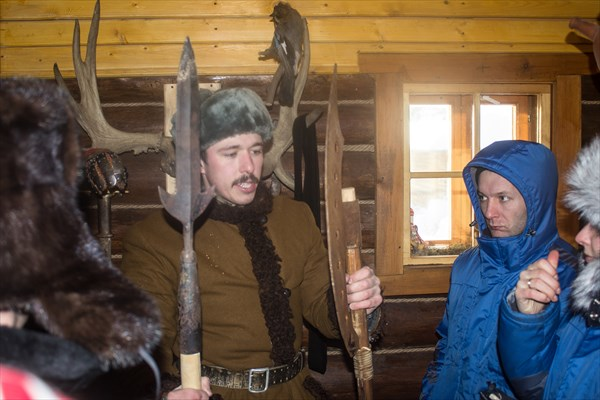 Экскурсия по крепости.