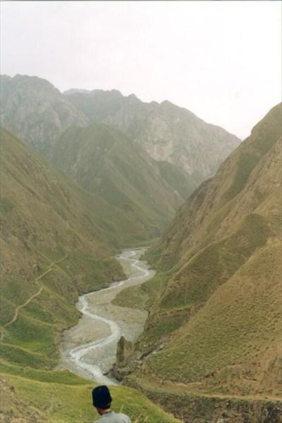 Тропа по склону долины [А.Чхетиани]