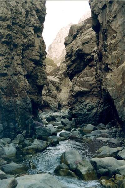 Снова каньон – р.Кичи-Ямансу. [А.Чхетиани]