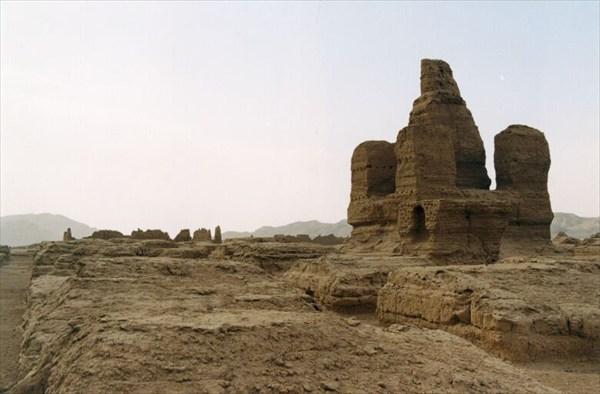 Развалины буддистского храма в Джаохэ [А.Чхетиани]