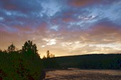Утро на ручье Нижний Хуллэ
