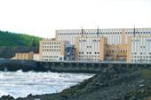 Плотина Светлинской ГЭС