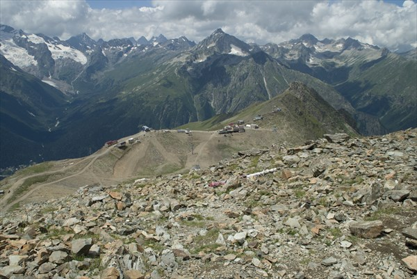 С вершины Муса-Ачитара