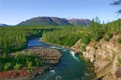 Река Кылтэллар.