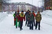 Участники в Инте с Виктором Десненко. Фото Алексея Серова.