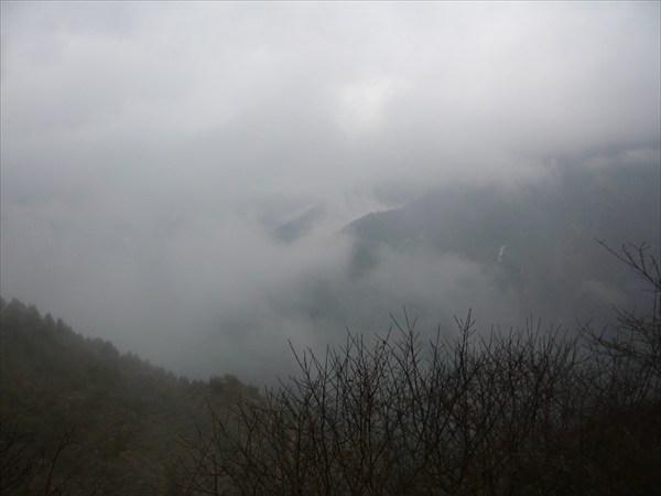 Долина в облаках