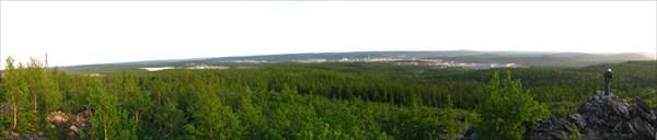 Вид на город Харп