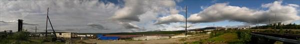 Ветреный и солнечный день в Харпе