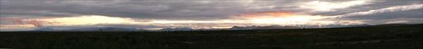 Закат на Монто-Новогоднем