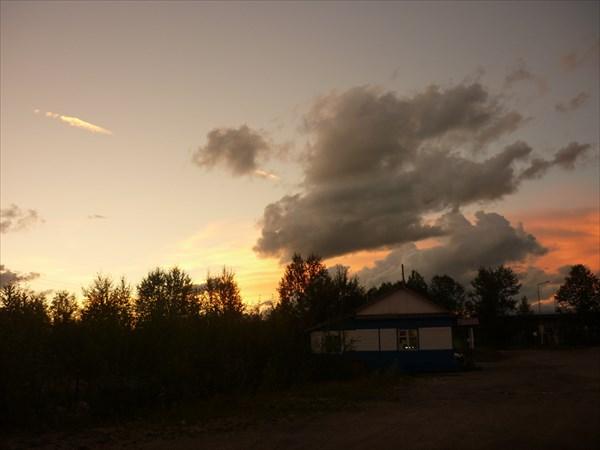 Закат в Томмоте