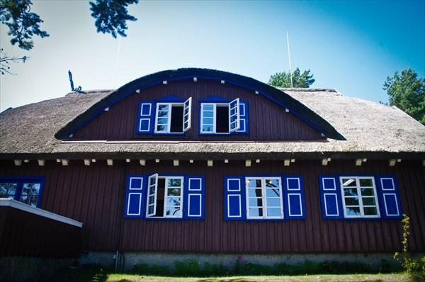 Дом-музей немецкого писателя Томаса Манна в Ниде