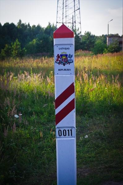 Граница с Латвией