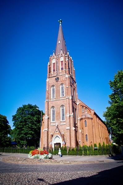 Церковь Святой Анны, старейшая в Лиепае