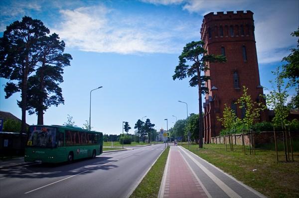 Водонапорная башня, построенная в 1905 году