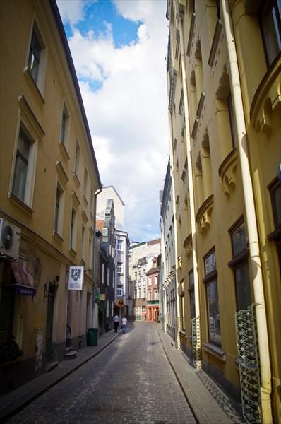Приятный для прогулок рижский Старый Город