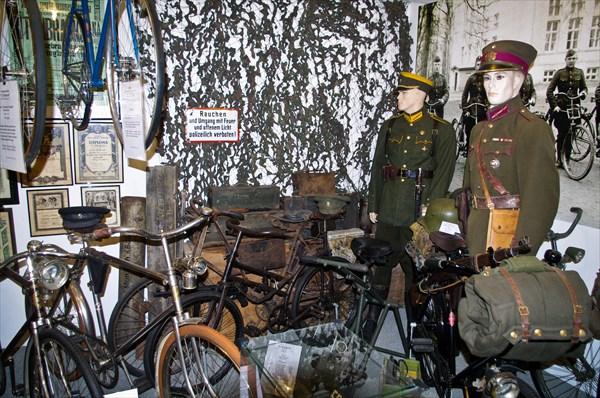 Велосипеды фашистcких велосипедных войск