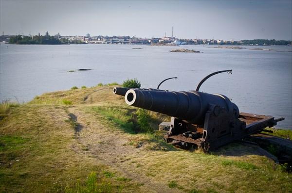 Хельсинки. Крепость Свеаборг (Суоменлинна).