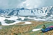 Вид на север с Конгорского перевала