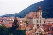 Вид на город Брашов