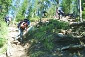 Спуск в долину р. Тушканчик
