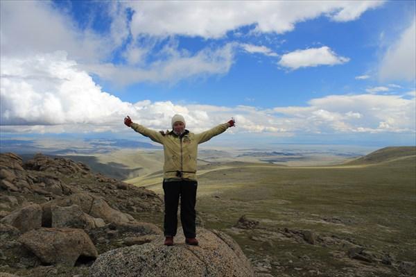 На фоне близкой Монголии