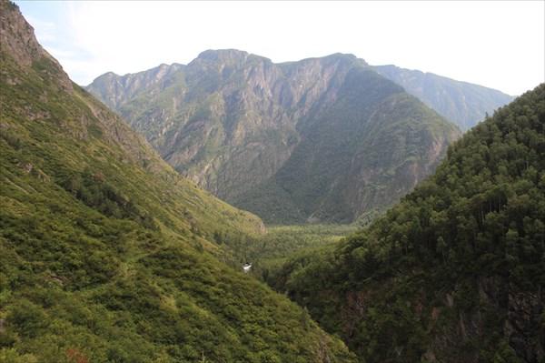 Каньон реки Чебдар