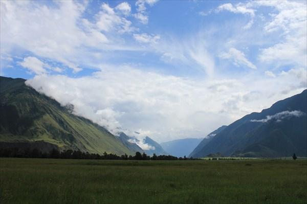 Долина реки Чулышман