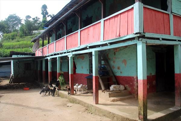 Жилой дом в деревне Сундариджал