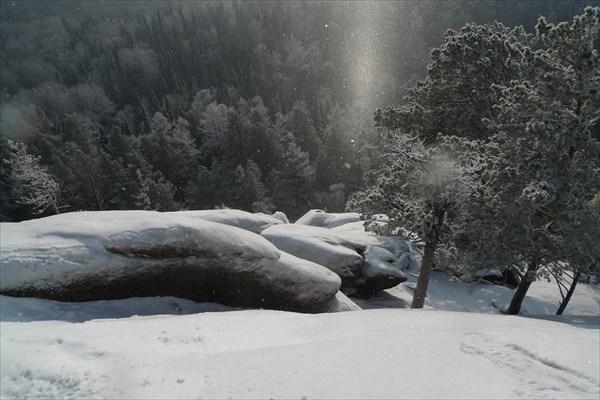 Снежная дымка