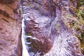 Третий водопад, выход в ущелье