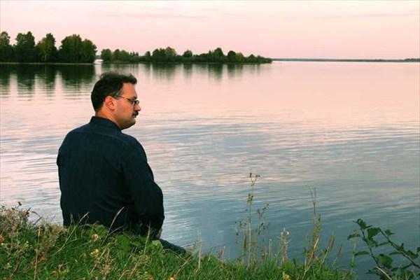 А озеро большое...