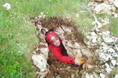 Открытие пещеры 3 (ш.Паустовского)